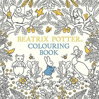 **NEW** - The Beatrix Potter Colouring Book (Paperback) 0241287545