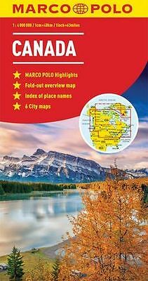 **NEW** - Canada Marco Polo Map (Marco Polo Maps) (Map) 382976734X