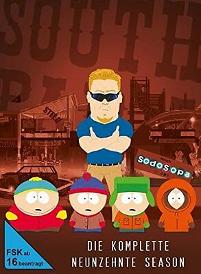 2 DVDs * SOUTH PARK : SEASON / STAFFEL 19 ~ DIGI # NEU OVP +