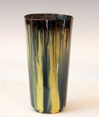 Vintage Peters & Reed Jervis Style Art Pottery Arts & Crafts Drip Glaze Vase