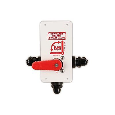 Jr Products Dvh-1-A Hot Water Tank Diverter Valve New