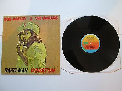 Bob Marley & The Wailers Rastaman Vibration LP  Ex- 1st UK Vinyl, ILPS9383 A1B1