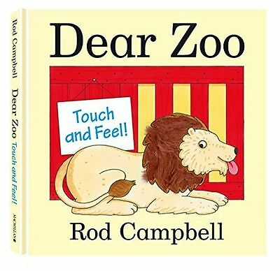 **NEW** - Dear Zoo Touch and Feel Book (Hardcover) 0230757871