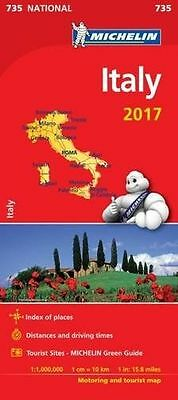 **NEW** - Italy 2017 (Michelin National Maps) (Map) 2067219014