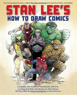 **NEW** - Stan Lee's How to Draw Comics (Paperback) 0823000834