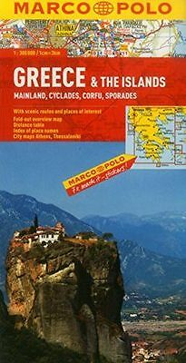 **NEW** - Greece & the Islands Marco Polo Map (Map) 3829767099