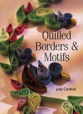 **NEW** - Quilled Borders and Motifs (Paperback) 1844482081