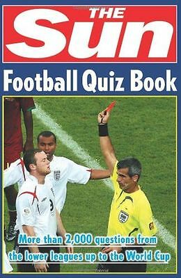**NEW** - The Sun Football Quiz Book (Paperback) 0007259751