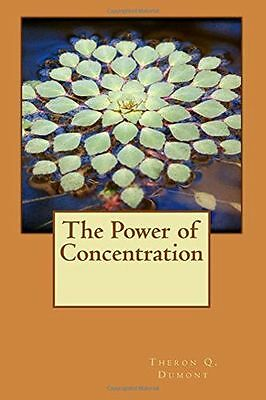 **NEW** - The Power of Concentration (Paperback) 1514339951