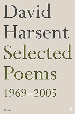 **NEW** - Selected Poems David Harsent (Paperback) 0571234011