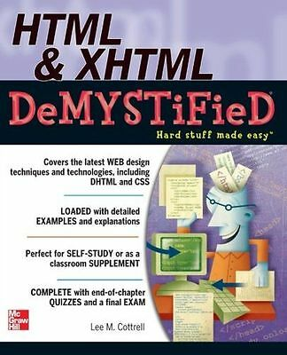 **NEW** - HTML & XHTML DeMYSTiFieD (Paperback) 0071748040