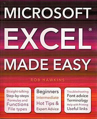 **NEW** - Microsoft Excel Made Easy (Paperback) 184786984X