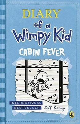 **NEW** - Cabin Fever (Diary of a Wimpy Kid book 6) (Paperback) 0141343001