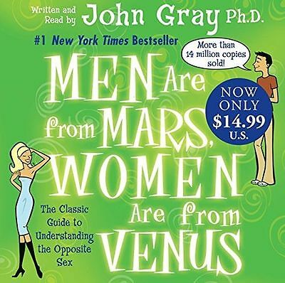 **NEW** - Men Are from Mars, Women Are from Venus (Audio CD) 006123205X