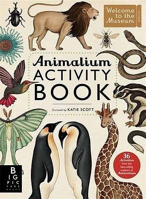 NEW - Animalium Activity Book (Welcome to the Museum) (Paperback) 1783703431
