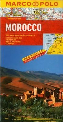 **NEW** - Morocco Marco Polo Map (Marco Polo Maps) (Map) 3829767315