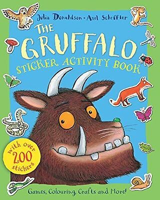 **NEW** - The Gruffalo Sticker Activity Book (Paperback) 023077248X
