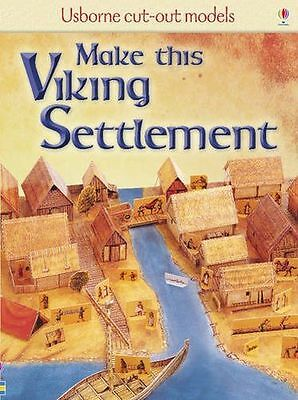 NEW - Make This Viking Settlement (Usborne Cut-out Models) (Game) 1409505421