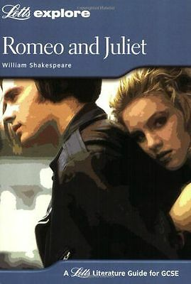 NEW - Romeo and Juliet (Letts Explore GCSE Text Guides) (Paperback) 1843153165