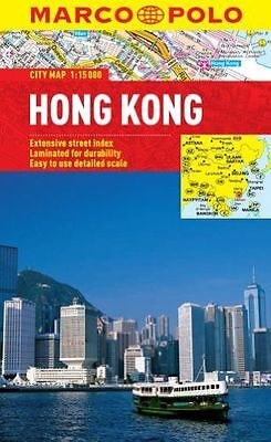**NEW** - Hong Kong Marco Polo City Map (Marco Polo City Maps) (Map) 3829769725