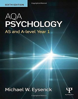 **NEW** - AQA Psychology: AS and A-level Year 1 (Paperback) 1138902098