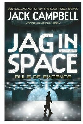 **NEW** - JAG in Space - Rule of Evidence (Book 3) (Paperback) 0857689428