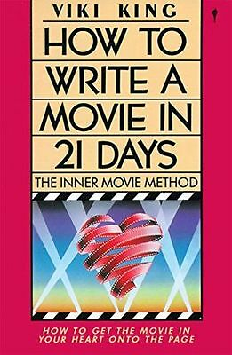 NEW - How to Write Movie in 21 Days: The Inner Movie Method (PB) 0062730665