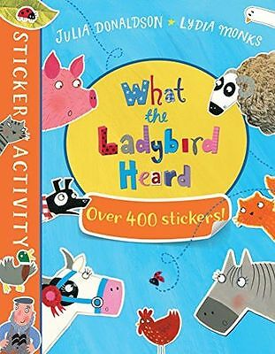 **NEW** - The What the Ladybird Heard Sticker Book (Paperback) 144728464X