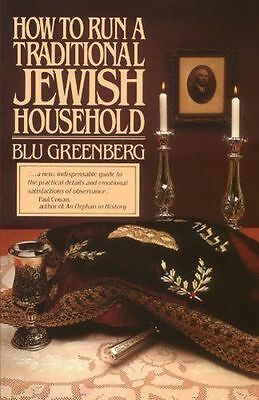 **NEW** - How to Run a Traditional Jewish Household (Paperback) 0671602705