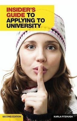 **NEW** - Insider's Guide to Applying to University (Paperback) 1844553973