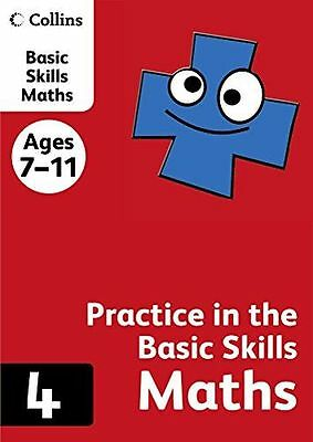 NEW - Collins Practice in the Basic Skills - Maths Book 4 (PB) 0007505507