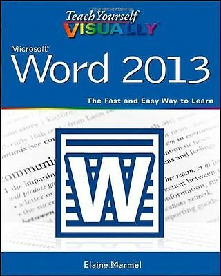 Teach Yourself Visually Word 2013 (Teach Yourself VISUALLY (PB) 1118517695