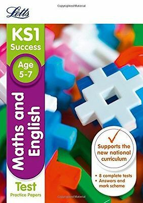 KS1 Maths and English SATs Practice Test Papers (Letts KS1 (PB) 1844198197