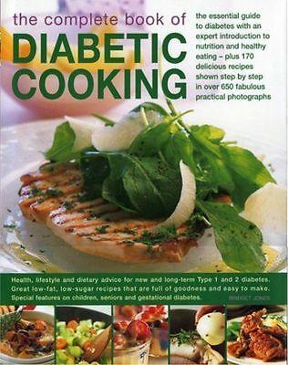The Complete Book of Diabetic Cooking: The Essential Guide for (HC) 075481775X