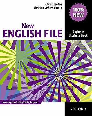 New English File: Beginner: Student's Book: Six-level general (PB) 0194518698