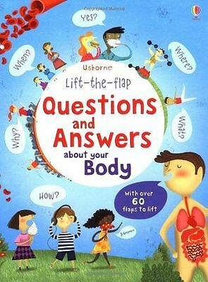 Lift the Flap Questions & Answers about your Body (Usborne (HC) 1409562107