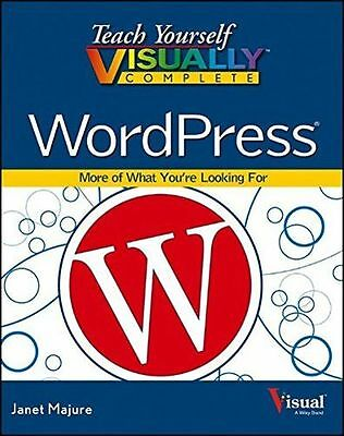 Teach Yourself Visually Complete WordPress (Teach Yourself (PB) 1118583957