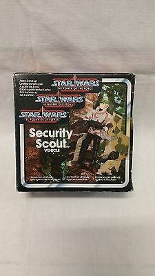 Star Wars - The Power of the Force - Security Scout - Kenner - Vintage - Spain!