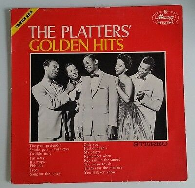The Platters - Golden Hits LP 12'' Stereo 825 151 QY