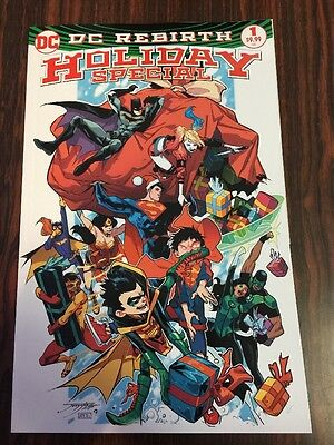DC Rebirth Holiday Special #1 2016  First Print HOT!  SOLD OUT!!!