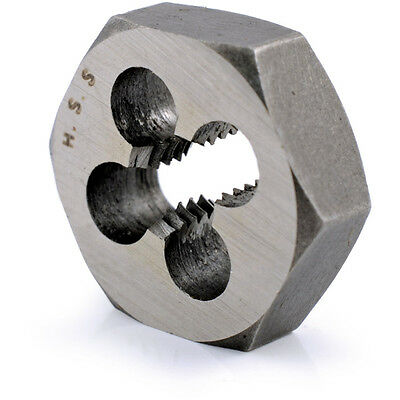 "Sherwood 1/8""X40 Bsw Hss Hexagon Die Nut"