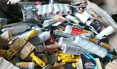 Joblot Pallet Harris Decorating Clearance Brushes, Paint Rollers x 2423 Brush