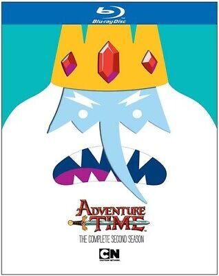 Adventure Time: The Complete Second Season (Blu-ray Disc, 2013) NEW