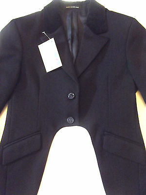 Girls Mears Pytchley Navy Cutaway Showing Jacket Size 30