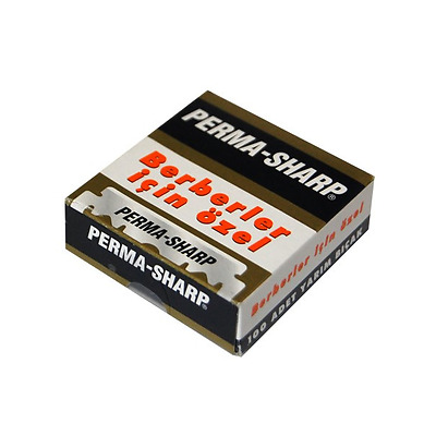 Perma Sharp Professional | Single Edge Razor Blades |  Pro Straight Edge