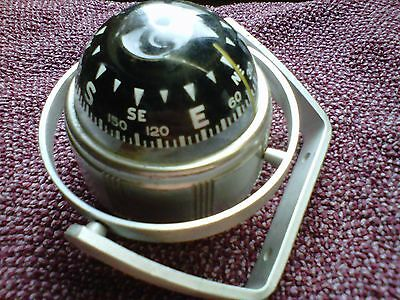 Airguide Traditional Liquid Filled Dash Compass Dated 1968