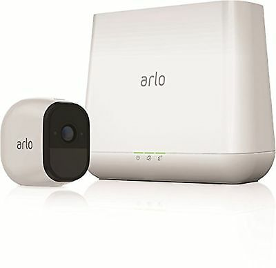Arlo Pro Security System, 1 Rechargeable wireless HD Cameras Audio, Night Vision