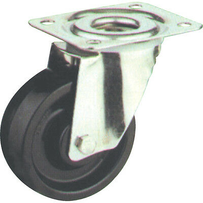 Atlas Workholders 100Mm T/P Swiv Castor(Zinc)Hi-Temp Wheel