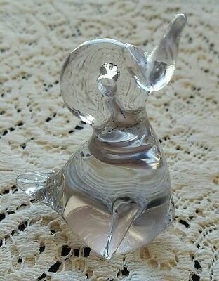 Glass baby duck figure DG7112016
