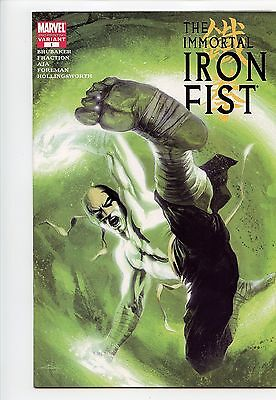 Immortal Iron Fist 1 Dell'Otto 2nd Print Variant Avengers Power Man NM HTF 2007